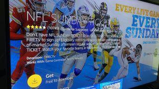 NFL Sunday Ticket on Amazon Fire TV