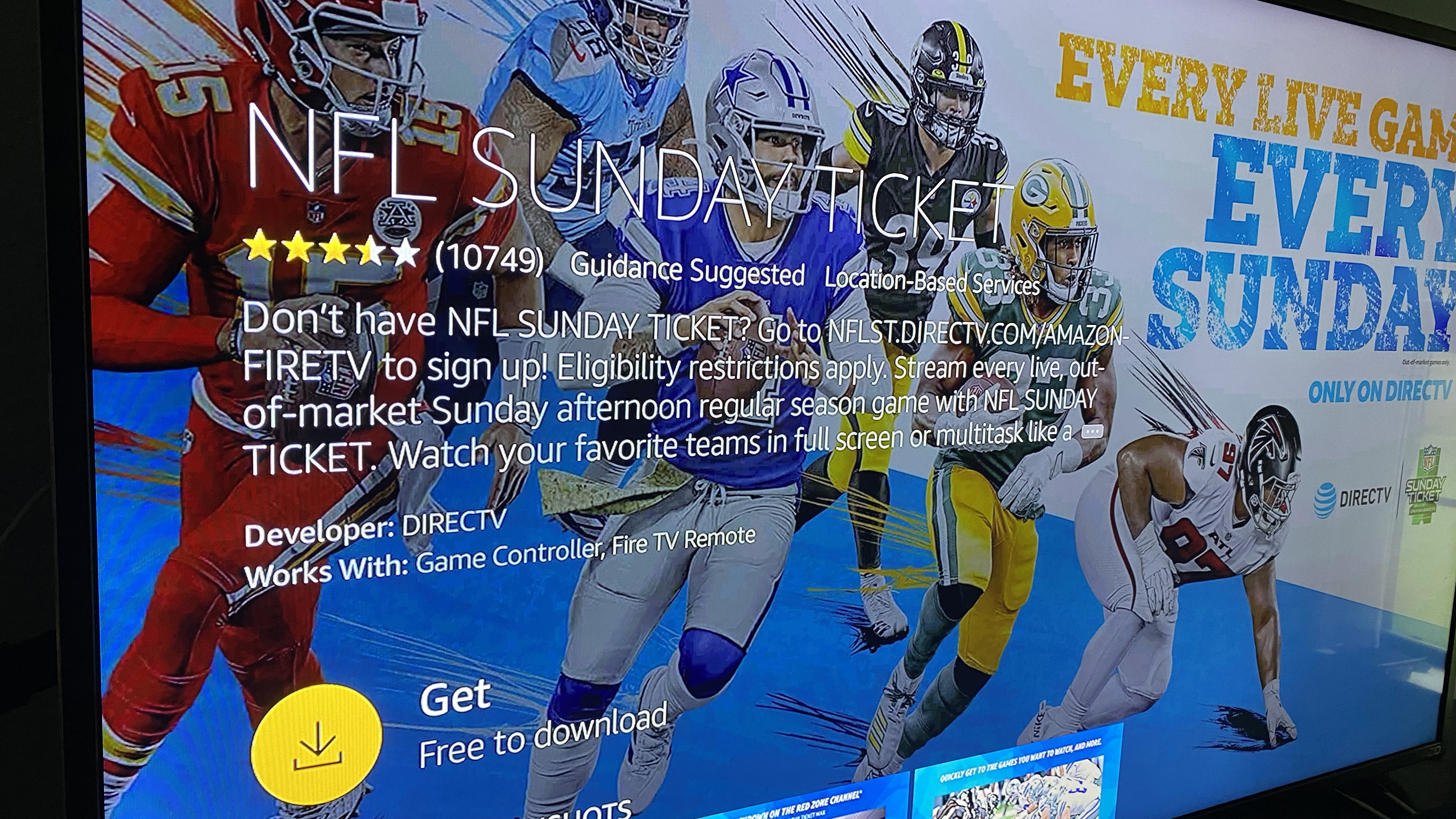 Can You Watch Nfl Sunday Ticket On Amazon Fire Tv Whattowatch