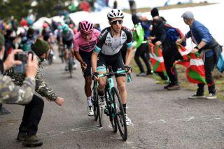 Simon Yates (BikeExchange) and Egan Bernal (Ineos Grenadiers) at the Giro d'Italia
