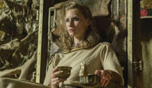 Vikings Aslaug Alyssa Sutherland History