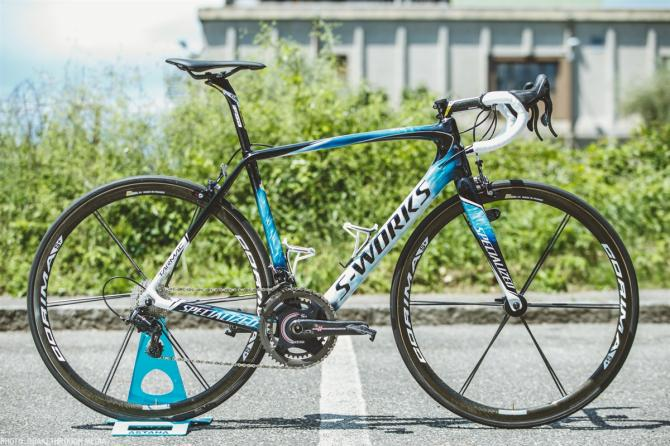 Vincenzo Nibali's new paint job