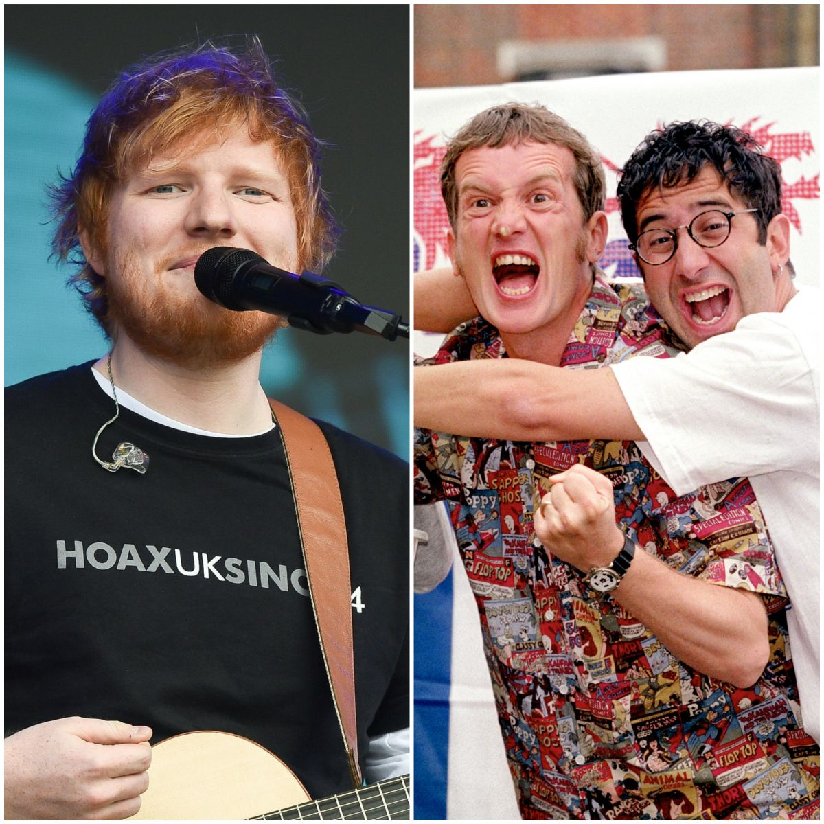 Ed Sheeran performed 'Three Lions' for England squad, reveals Kalvin Phillips