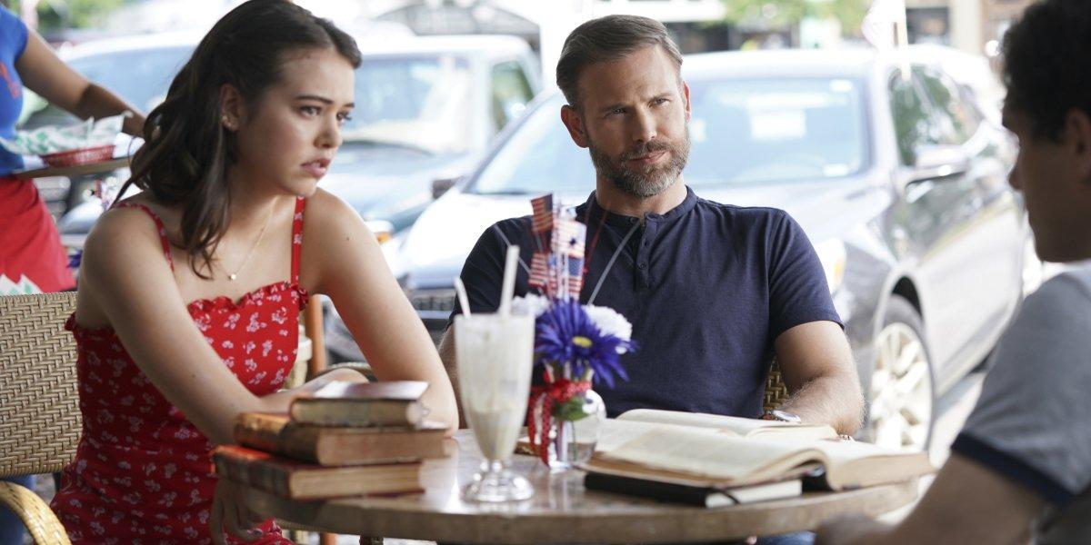 Legacies Season 2 2019 premiere Josie and Alaric listen to Landon The CW