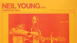 Neil Young: Carnegie Hall 1970 cover art