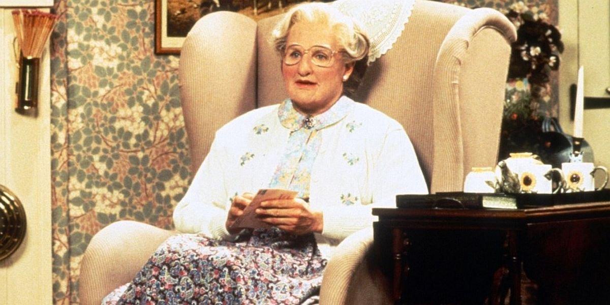 Wait, Did Robin Williams' Improv Skills Lead To An NC-17 Cut Mrs. Doubtfire?