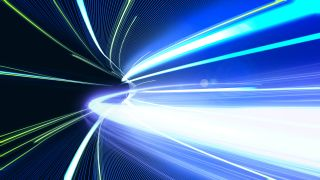 The speed of light is a speed limit on everything in our universe. Or is it?