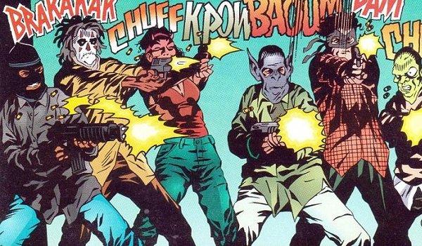 The False Face Society DC Comics