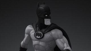 image of Batman Black and White NFT digital statue