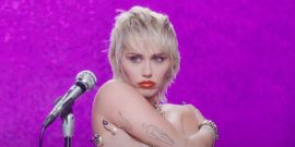 Miley Cyrus Recalls Foam Finger VMAs Performance Criticism In New Thong-Centric Post