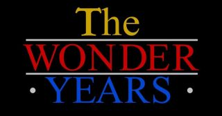 The Wonder Years title.