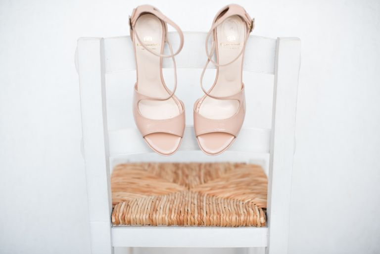 shoe storage inspiration from The Home Edit