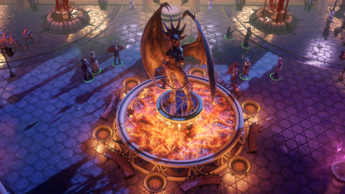 Become an angel and ride a velociraptor into battle in Pathfinder: Wrath of the Righteous
