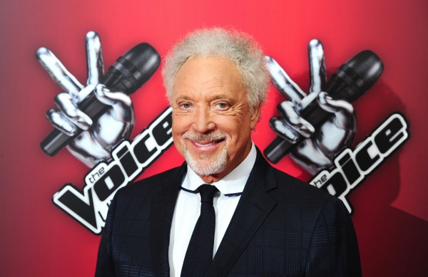 Sir Tom Jones promoting The Voice in 2015 before he was ditched by the BBC one show