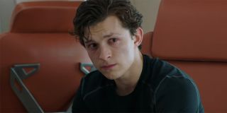 Peter Parker grieving in Spider-Man: Far From Home