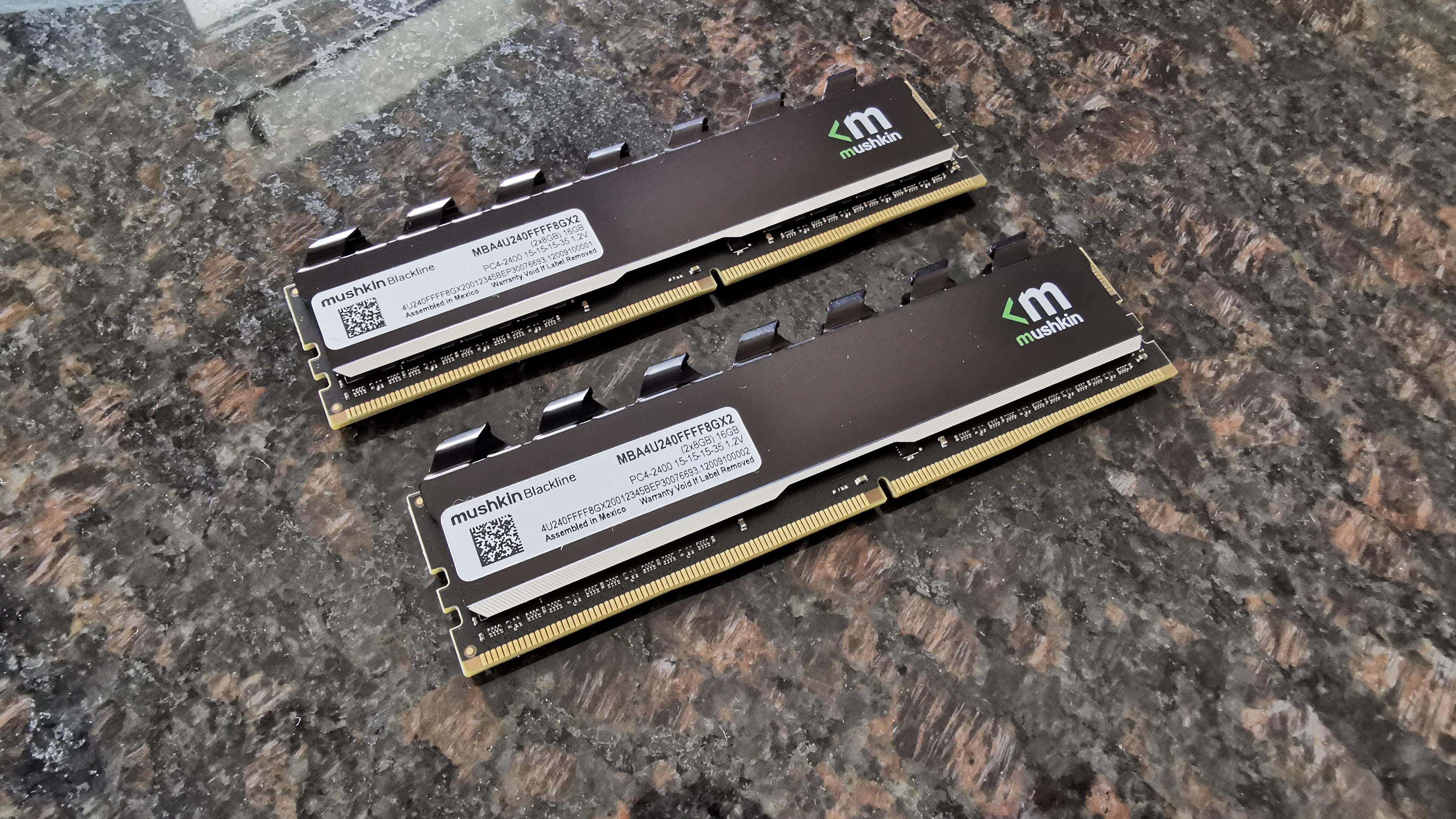 Mushkin Blackline DDR4-2400 16GB