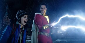 Shazam! Director Jokes About Sequel's Delay With A+ Logo