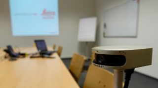 Leica Geosystems chose to upgrade its videoconferencing with a 180-degree, 4K PanaCast 2 from Altia Systems.