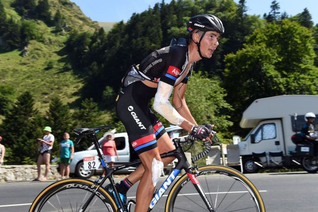 Warren Barguil on stage eleven of the 2015 Tour de France (Watson)