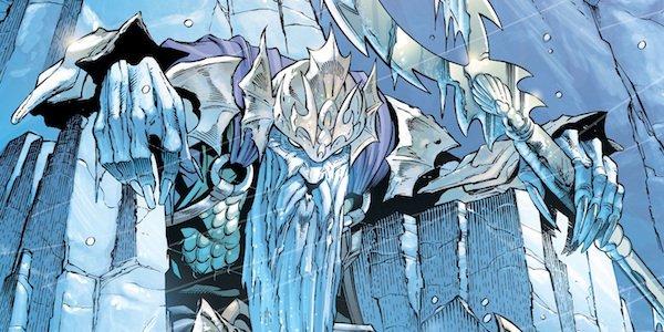 Atlan the Dead King from Aquaman comics