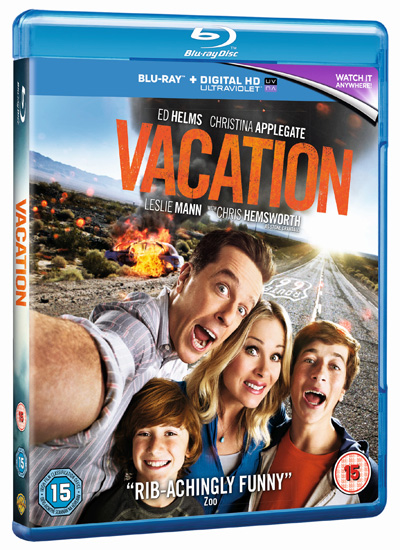 Win VACATION on Blu-ray™ - Out on Blu-ray™ and DVD December 14
