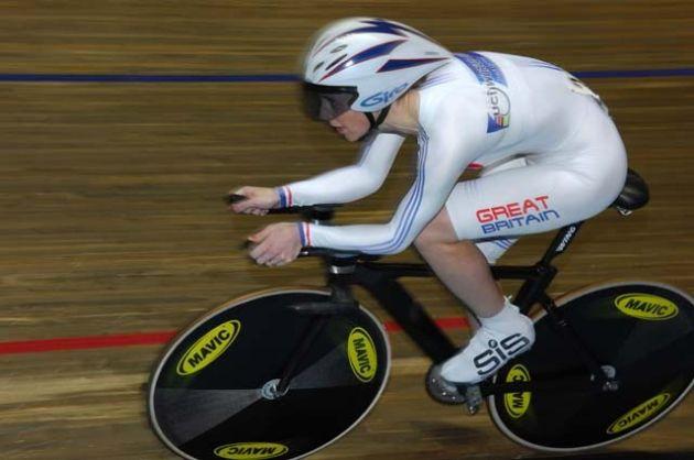 Wendy Houvenaghel track
