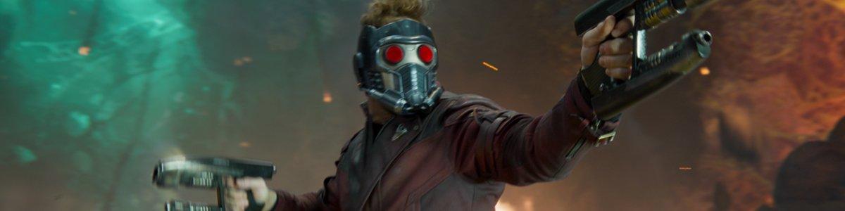 Star Lord Chris Pratt in Guardians of the Galaxy Vol. 2