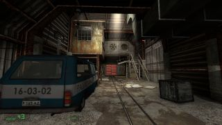 An image from half-life 2 mod Snowdrop Escape