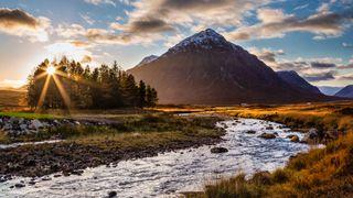 Buachaille Etive Mor on the West Highland Way