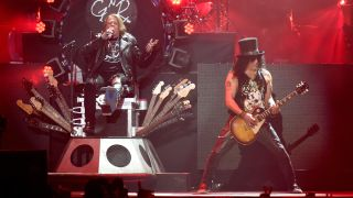 Guns N' Roses at Coachella this year