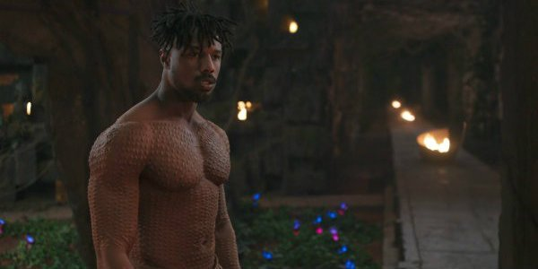 Michael B. Jordan Erik Killmonger Black Panther