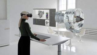 Varjo Workspace is compatible with a number of Microsoft Windows applications and software tools, and enables designers to switch between real, virtual, and mixed-reality modes and modify their creations while experiencing them in 3D.