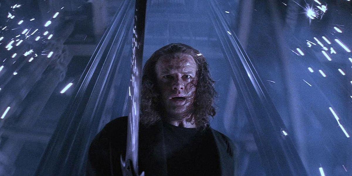 Christopher Lambert in Highlander 2