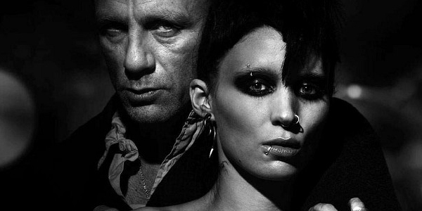 The Girl With The Dragon Tattoo Poster Daniel Craig Rooney Mara