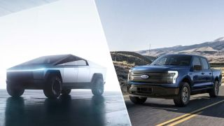 Tesla Cybertruck vs. Ford F-150 Lightning