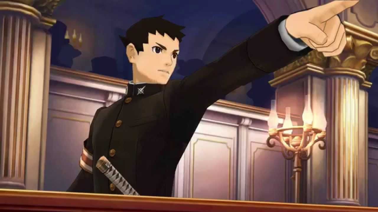 Great Ace Attorney Naruhodo Ryunosuke