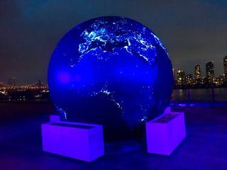 Black Marble Earth