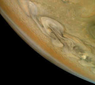 Jupiter's raging storms