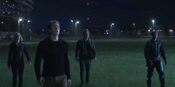 The Avengers in the Endgame trailer
