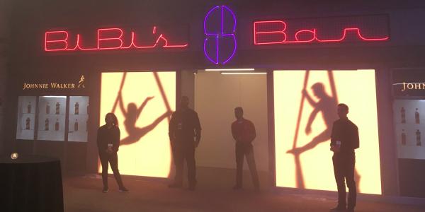 Blade Runner bar at Comic-Con