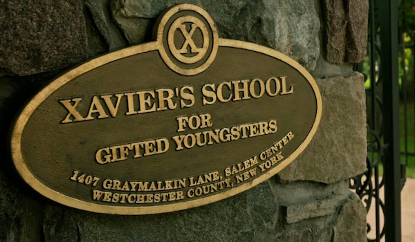 Sign for Xavier's School for Gifted Youngsters