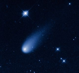 The Hubble Space Telescope captured this view of Comet ISON, C/2012 S1 (ISON), on May 8, 2013.