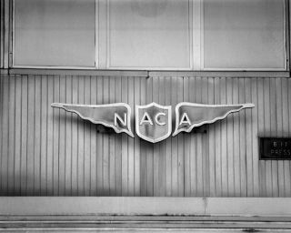NACA Sign from Langley Research Center