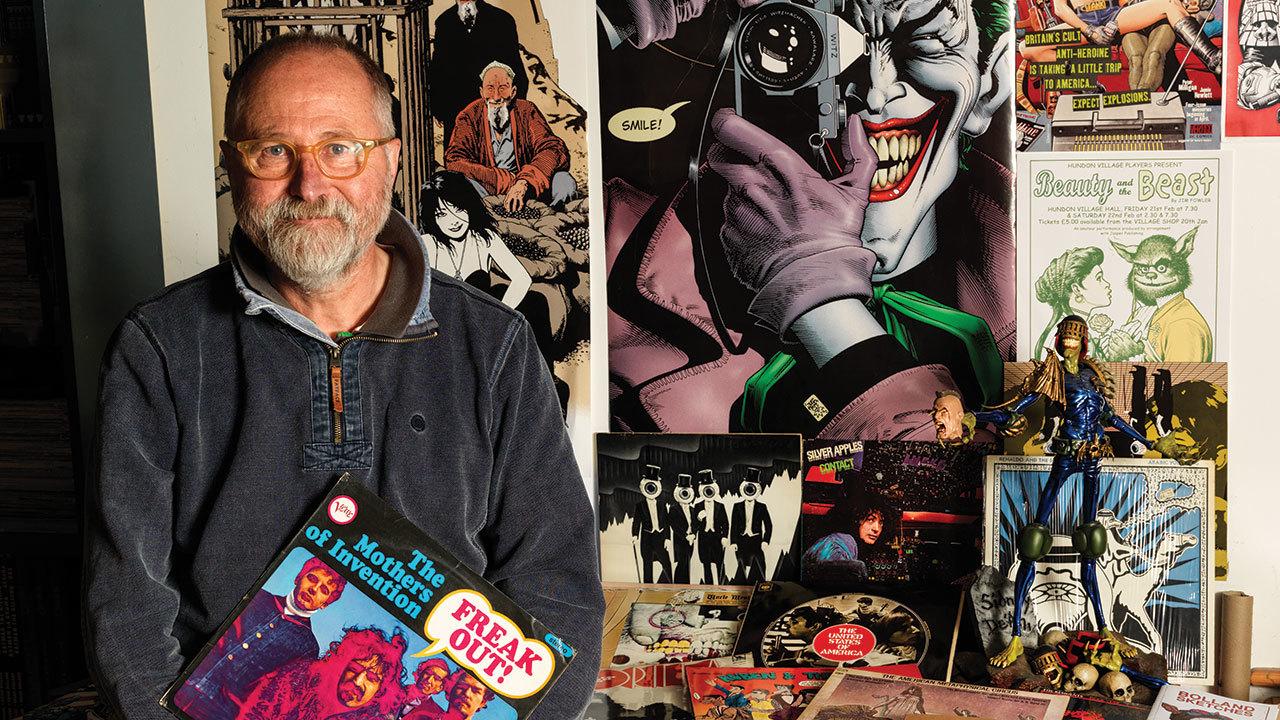 Judge Dredd illustrator Brian Bolland gives us a peek at his