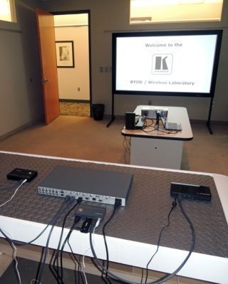 Kramer Electronics Opens BYOD/Wireless Lab