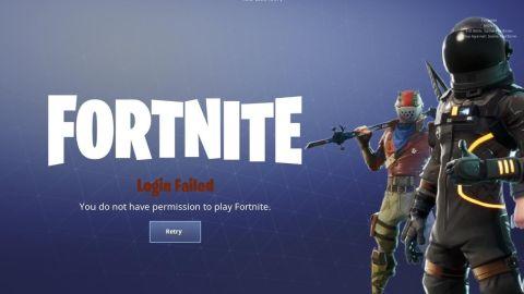 Permission To Play Fortnite Ipad How To Fix The You Do Not Have Permission To Play Fortnite Error Gamesradar