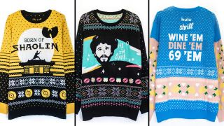 Hulu's ugly holiday sweaters