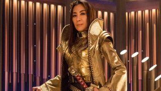 Michelle Yeoh as Emperor Georgiou in Star Trek Discovery