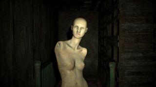 A screenshot of a mannequin from Resident Evil 7.