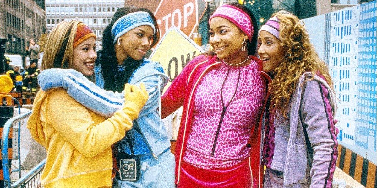 Raven-Symone, Adrienne Bailon, Kiely Williams, and Sabrina Bryan in The Cheetah Girls