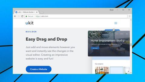 uKit homepage